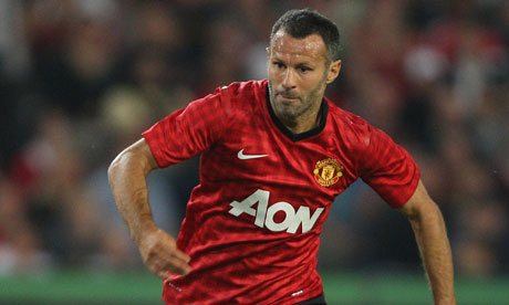 Ryan Giggs could be in line for his 1000th career appearencesource: gaurdian.co.uk