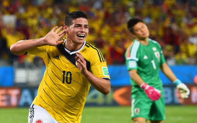 22-year-old James Rodriguez is really showing why Monaco paid €45m for him image: caughtoffisde.com