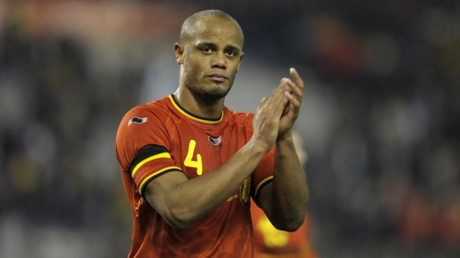 Vincent Kompany was a rock in the heart of the Belgian defence image: sdgpr.com