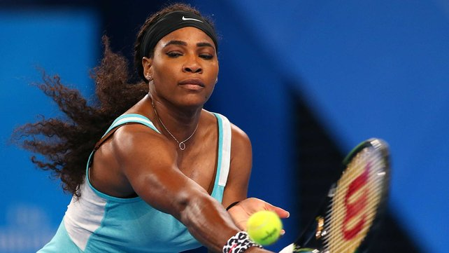 Serena Williams has lost just two of 18 games against Maria Sharapova image: rte.ie