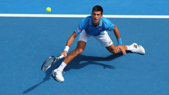 Novak Djokovic is tipped by many to win the Australian Open image: rte.ie