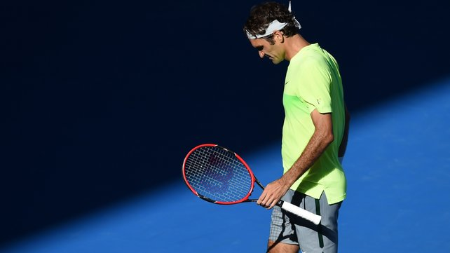 Roger Federer had reached at least the semi's of the Aussie Open since 2004 image: rte.ie