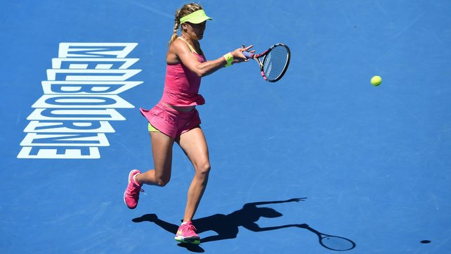 Eugenie Bouchard put controversy aside as she easily advanced to the fourth round image: rte.ie