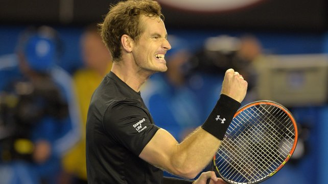 Andy Murray has reached his first grandslam final since Wimbledon 2013 image: rte.ie