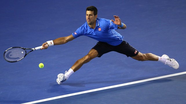 Novak Djokovic is looking to become just the second man to win five Aussie Open titles image: rte.ie