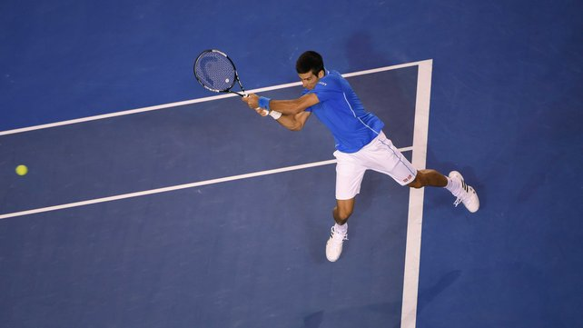 Novak Djokovic is now just one Aussie title off tying with Roy Emerson image: rte.ie