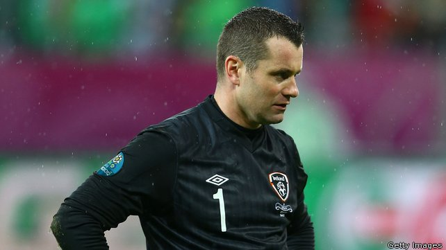 Shay Given ame out of retirmenet last year but has yet to feature in Martin O'Neill's side image: rte.ie