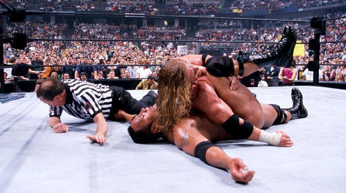 Resultado de imagem para fatal 4 way wrestlemania 16