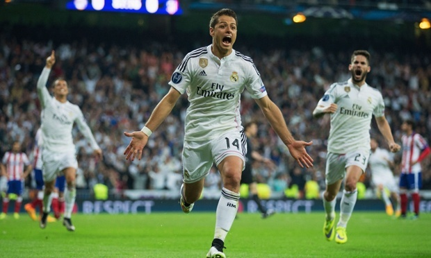 Real Madrid won for the first time in eight games against thier neighbours image: theguardian.com