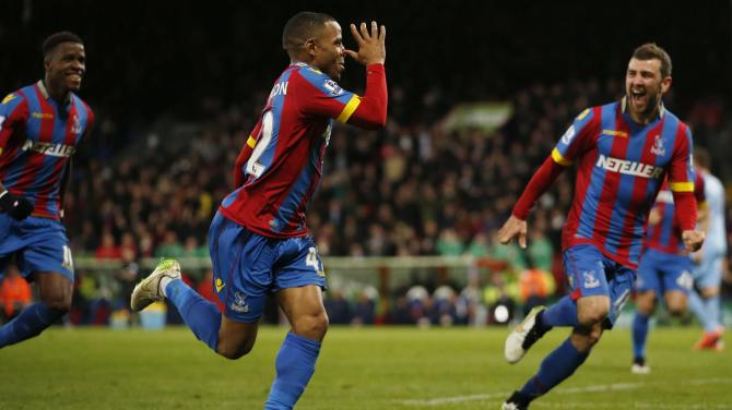 Jason Puncheon was on the scoresheet as Crystal Palace condemened City to a fourth successive away  loss image: cpfc.co.uk