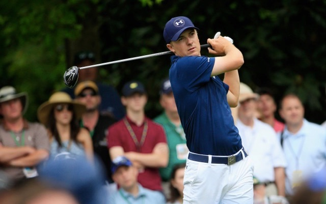 Jordan Speith equalled a record 18-under total set by Tiger Woods in 1997 image: cbssports.com