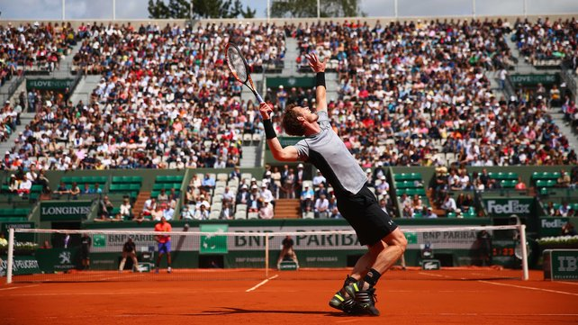 Andy Murray has never won a French Open title image: rte.ie