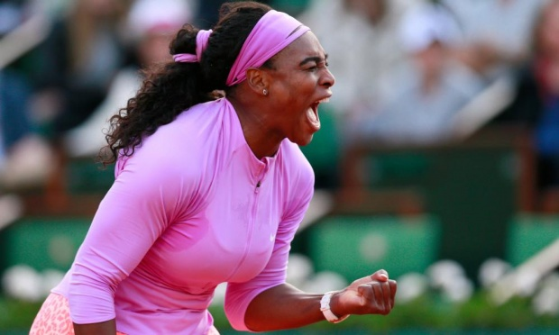 Serena Williams will now play compatriot Sloane Stephens in the next round image: theguardian.com