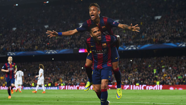 Neymar scored twice as Barcelona finished the job against PSG 2-0 image:90min.com