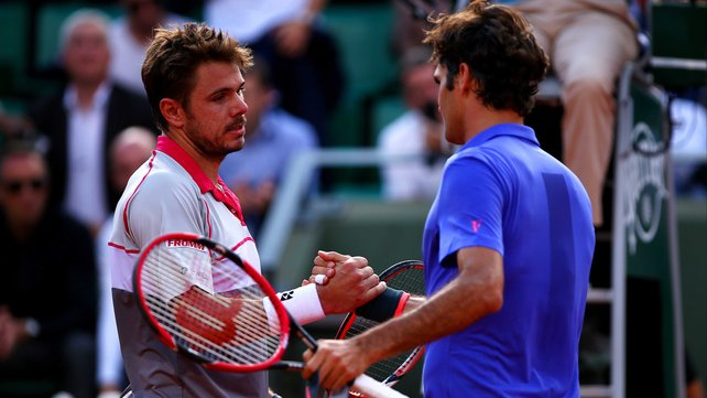 Stan Wawrinka finally beat Roger Federer at a grandslam with today's win image: rte.ie