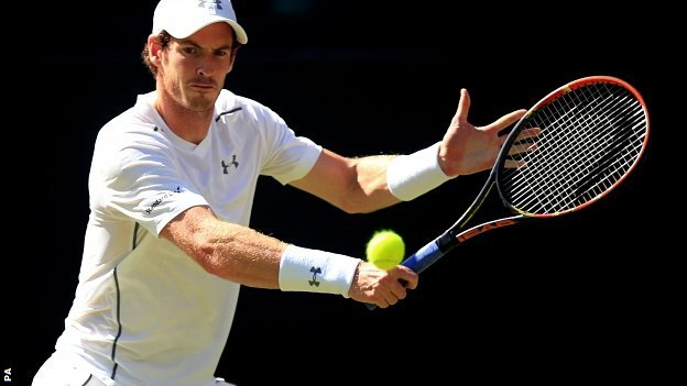 Andy Murray's only triumph at Wimbledon came in 2013 image: bbc.co.uk