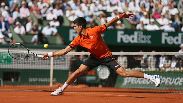 Novak Djokovic condemned Rafael Nadal to just his second career loss at the French Open image: ctvnews.ca