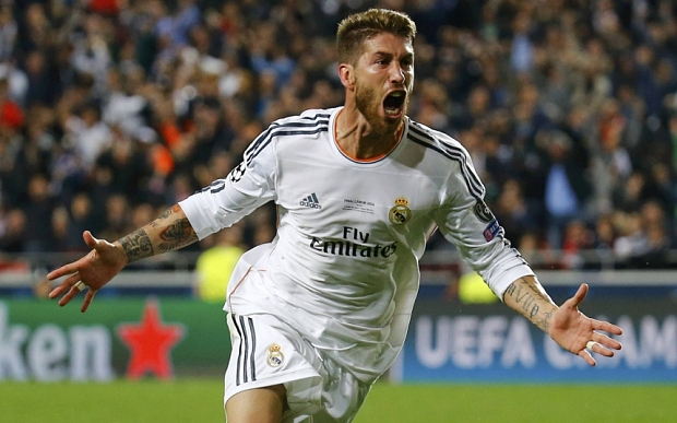 Will Sergio Ramos be a Man United player next season? image: telegraph.co.uk