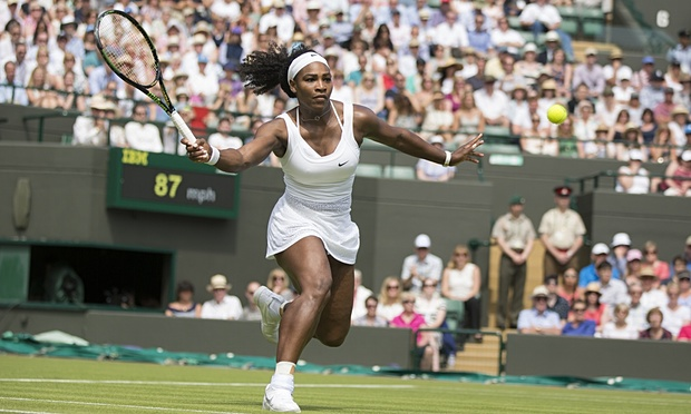 Serena Williams aims to secure a sixth Wimbledon title image: theguardian.com