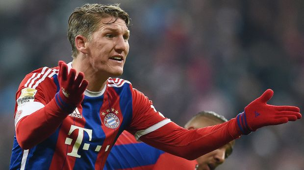 Bastian Schweinsteiger will join Man United after 17 years at Bayern Munich image: outside90.com