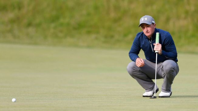Paul Dunne has made a sensational start at St Andrews image: foxsports.com