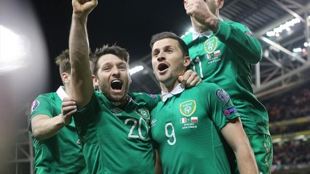 Ireland are ranked fourth seeds for the draw image: eurosport.co.uk
