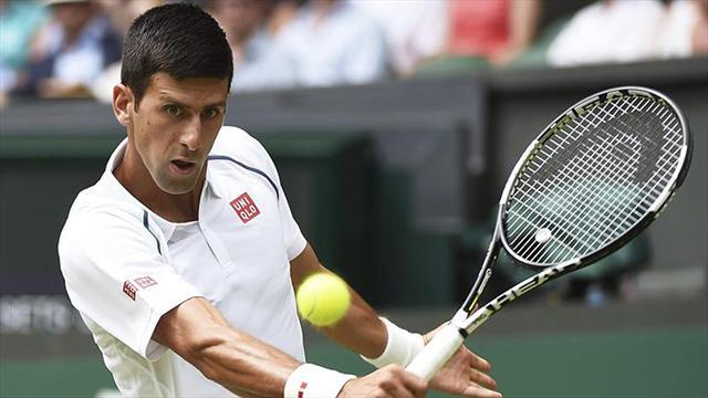 Novak Djokovic saw off  Finn image: au.eurosport.com