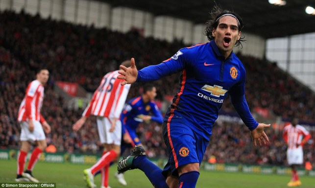 Radamel Falcao scored just four goals during his loan spell at Man United image: dailymail.co.uk