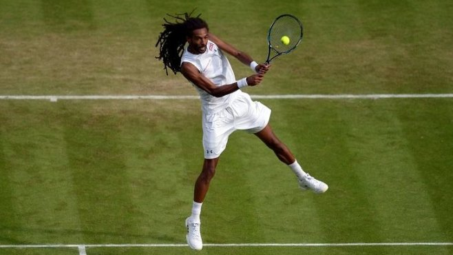 102nd seed Dustin Brown stunned Rafael Nadal to advance into the third round image: bbc.co.uk