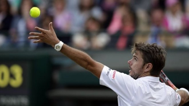 Stan Wawrinka crashed out after a shock defeat to Richard Gasquet image: bbc.co.uk