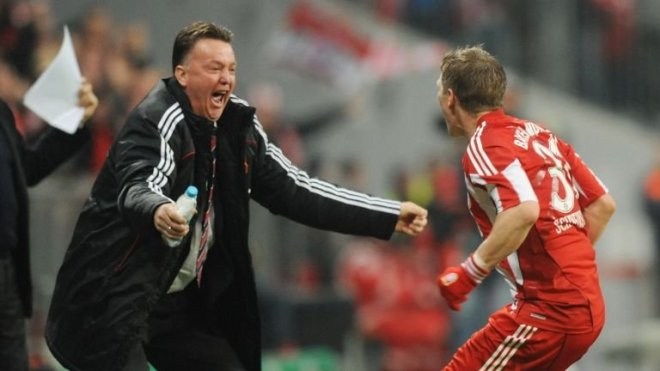 Bastain Schweinstieger played under Louis van Gaal who managed Bayern from 2009-2011 image: skysports.com