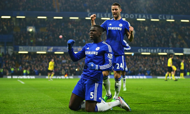 Kurt Zouma made 15 appearances for the Blues last season image: theguardian.com
