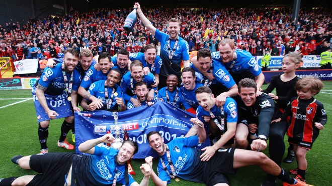 Bournemouth were crowned champions on the final day of last season image: youtube.com