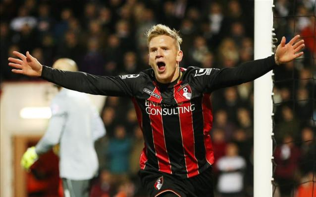 Matt Ritchie scored 15 goals for the Cherries last season image: footballleagueworld.co.uk