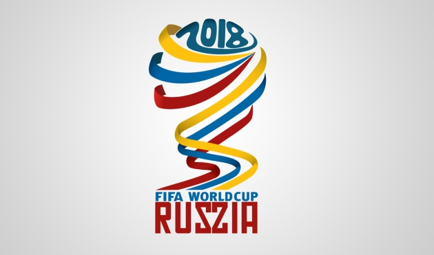 The official logo for the 2018 World Cup image: cctcv-america.com