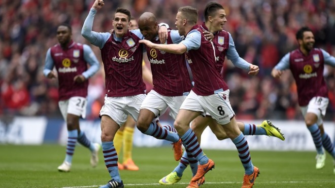 Aston Villa finihsed 17th but did reach the FA Cup final last season image: itv.com