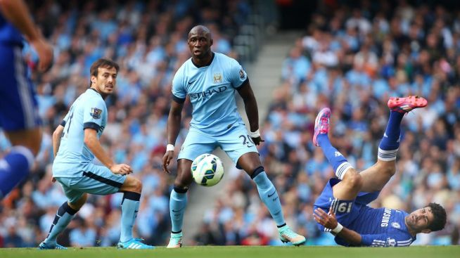 Eliaquim Mangala conceded a penalty and scored an own goal against Hull last season image: malay.mcfc.com