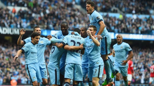 Man City have finished in the top three for the past five seasons image: europsort.com