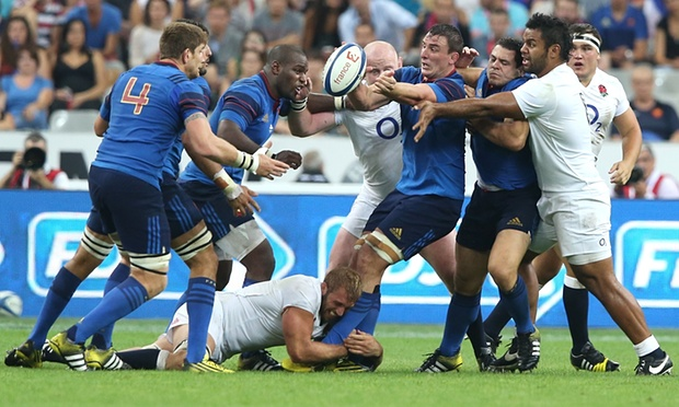 France play in the same pool as Ireland at the RWC image: theguardian.com