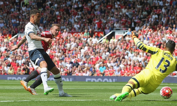A Kyle Walker own goal handed Man Utd a 1-0 win  image: theguardian.com