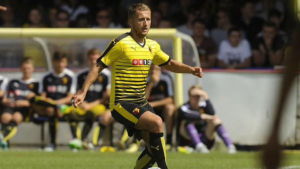 Watford signed Almen Abdi from Udinese in 2012 image: twitter.com