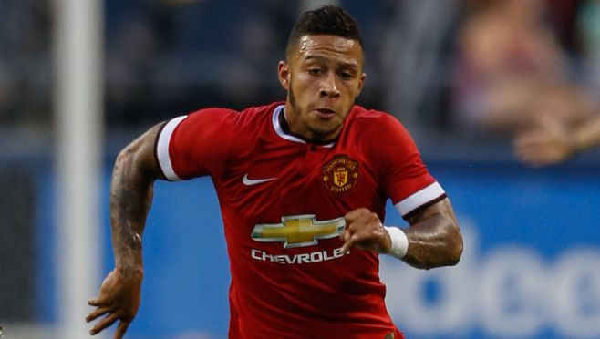 Memphis Depay is one of five new arrivals at Man United  image: 90min.com