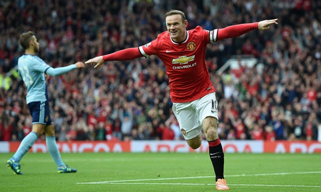 Wayne Rooney scored 12 goals for Man United last season image: scaryfootball.com