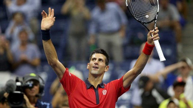 Novak Djokovic remains on course for a second US Open title image: rte.ie