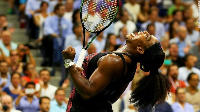Serena Williams looks to retain her US Open title image: edition.cnn.com