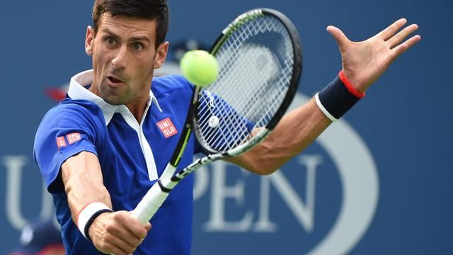 Noavk Djokovic is chasing his second US open title image: eurosport.co.uk