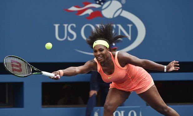 Serena Willams could become the first woman since 1988 to win all four majors in a calendar year image: theguardian.com