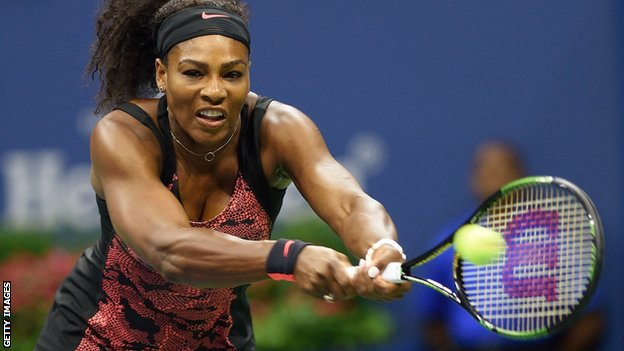 Serena Williams came from a set down to reach the last 16 image: bbc.co.uk