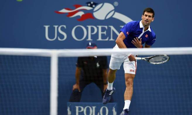 Novak Djokovic is gunning for just a second US Open title image: usatoday.com