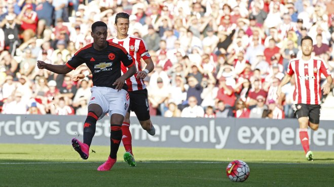 Anthony Martial has scored three goals in two games for Man Utd image: goal.com